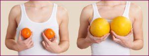 Какие продукты увеличивают грудные железы?