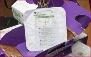 Импланты Мотива в упаковке