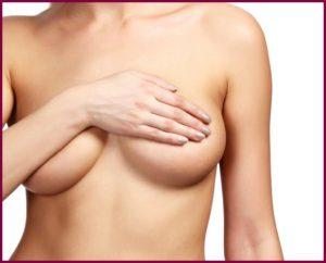 Уплотнения над грудью