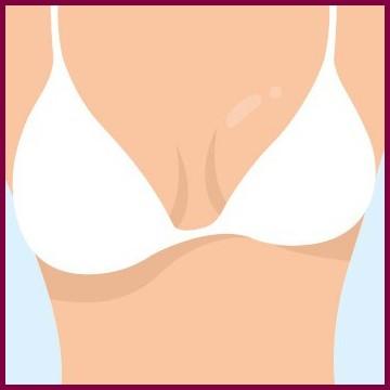 Одна грудь больше другой?