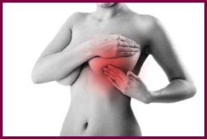 Причины жжения в молочной железе