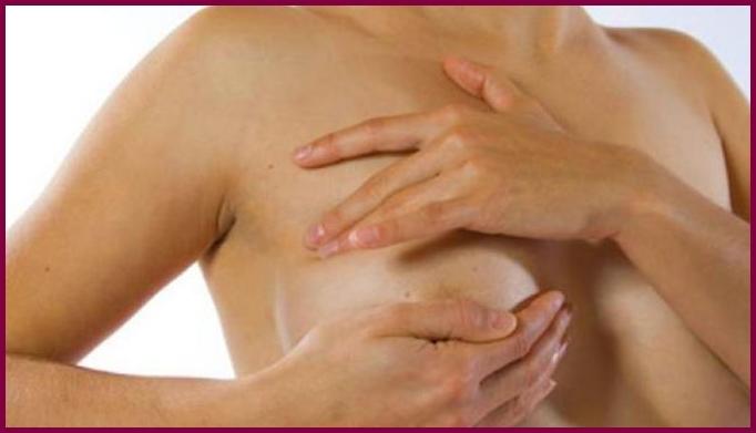 Пятна на женской груди