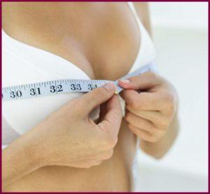После проведения измерения со стороны груди