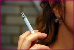 Пассивное курения во время кормления